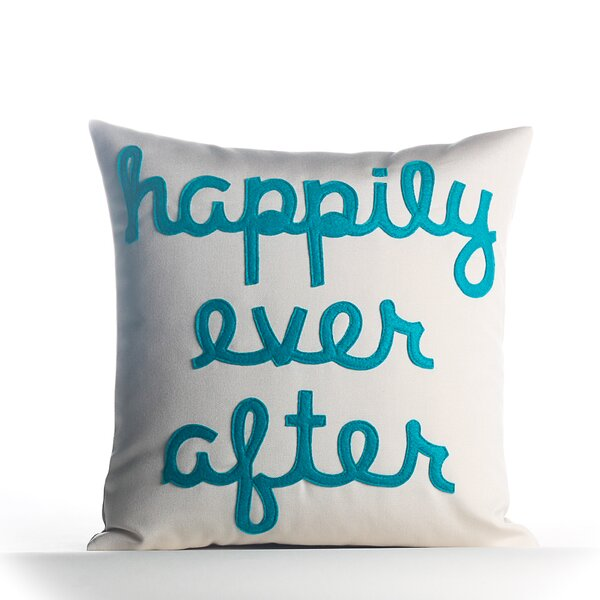 Happily Ever After Outdoor Throw Pillow by Alexandra Ferguson