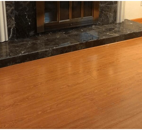 7 x 48 x 12mm Oak Laminate Flooring in Golden by Yulf Design & Flooring