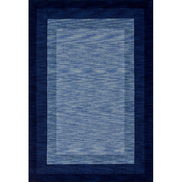Keifer Hand-Tufted Blue Area Rug by Alcott Hill