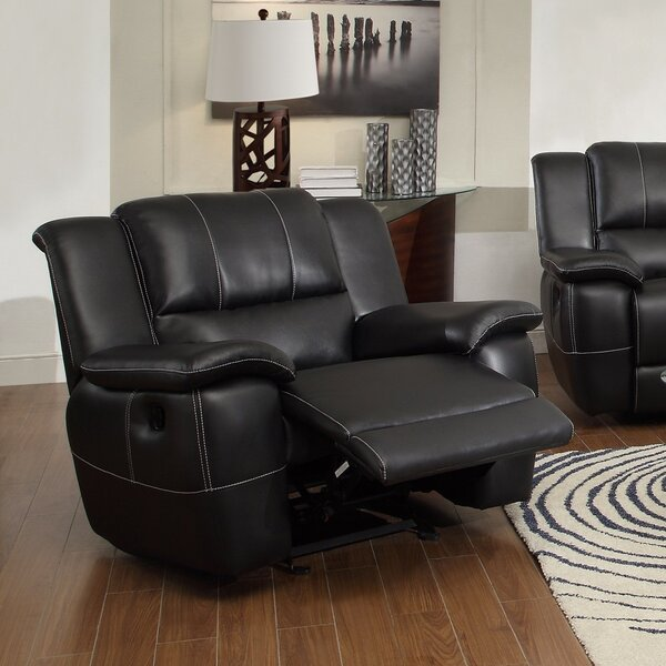 Willaims Phenomenal Glider Recliner with Pillow Arms by Canora Grey