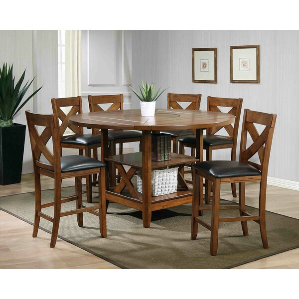 Arya 7 Piece Counter Height Dining Set by Millwood Pines