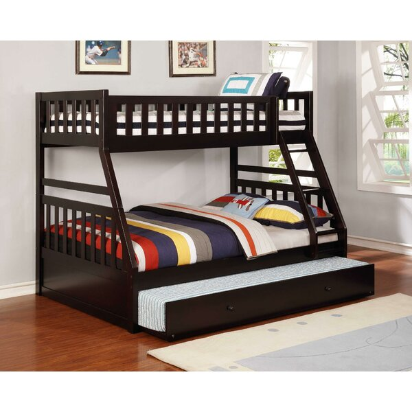 Tariq Bunk Bed with Trundle by Harriet Bee