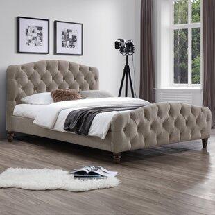 Upholstered Platform Bed by J&M Furniture