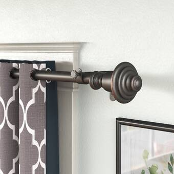 Canora Grey Allain Adjustable Curtain Double Rod Reviews Wayfair