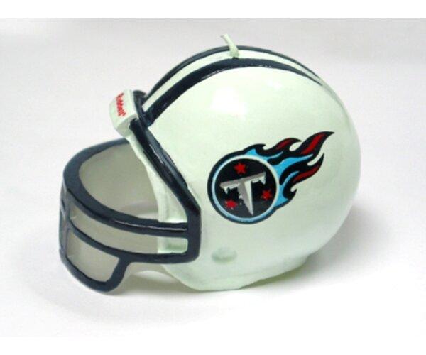 NFL Medium Birthday Helmet Candle Kansas City Chiefs by Phiel and Holing