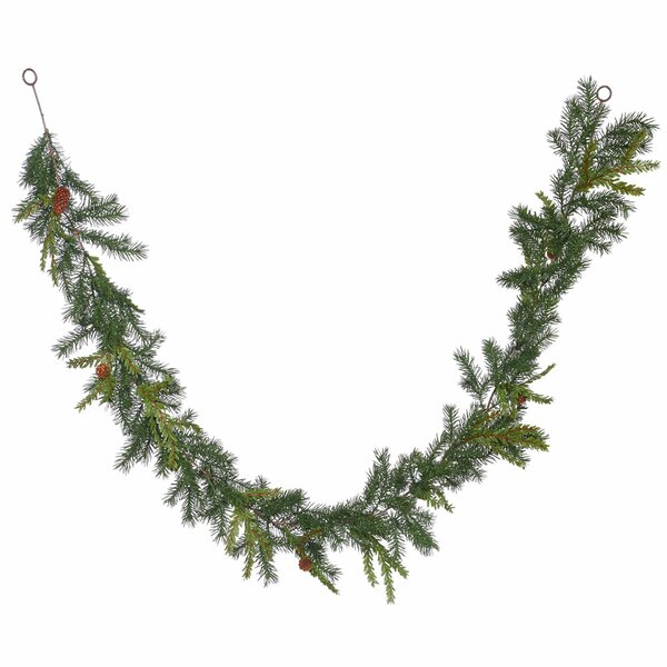 Hemlock Angel Pine Artificial Christmas Garland Unlit by Alcott Hill