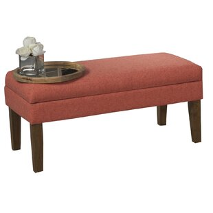 North Andover Decorative Storage Bench by Charlton Home