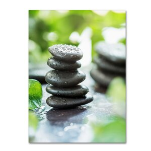 'Zen Pebbles' Photographic Print on Wrapped Canvas by Trademark Fine Art