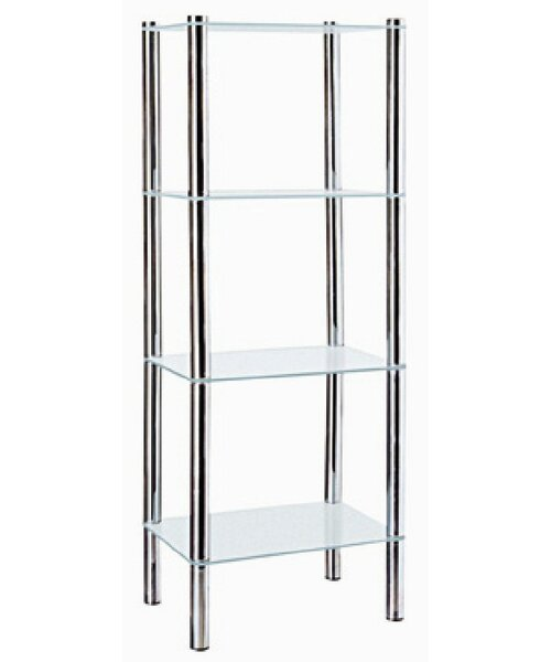 15.5 W x 42.25 H Bathroom Shelf by Home Basics