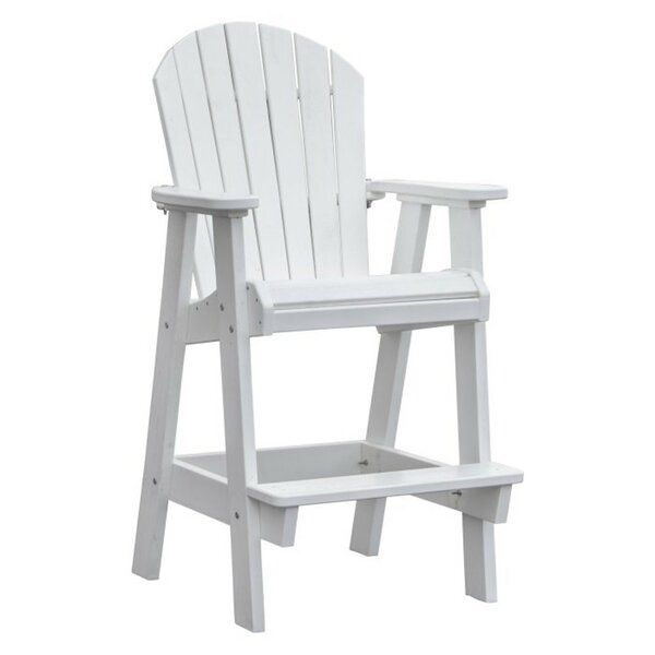 Siniard Patio Plastic Adirondack Chair by Breakwater Bay Breakwater Bay