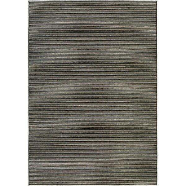 Napa Black/Tan Indoor/Outdoor Area Rug by Trent Austin Design