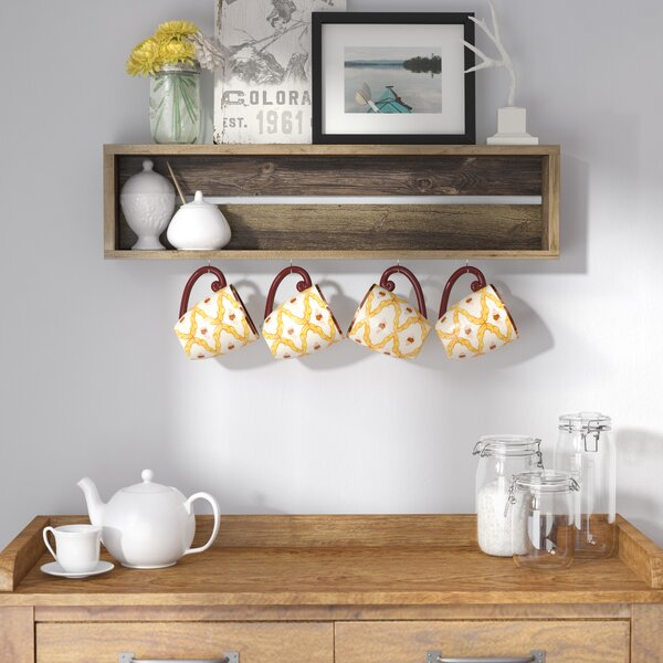 Vicente Coffee Cup Accent Shelf by Loon Peak