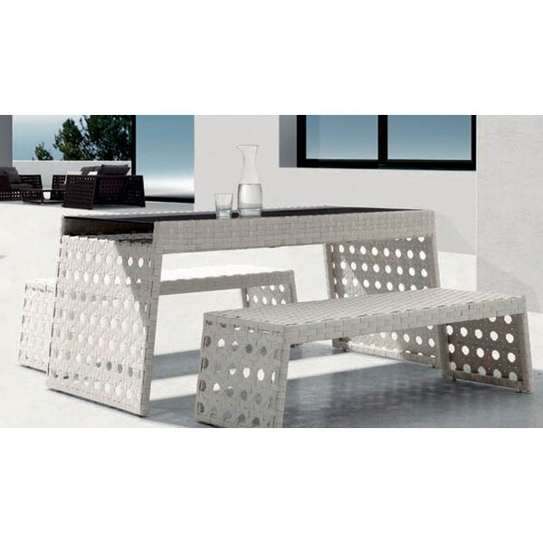 Happy Hour 3 Piece Dining Set by 100 Essentials