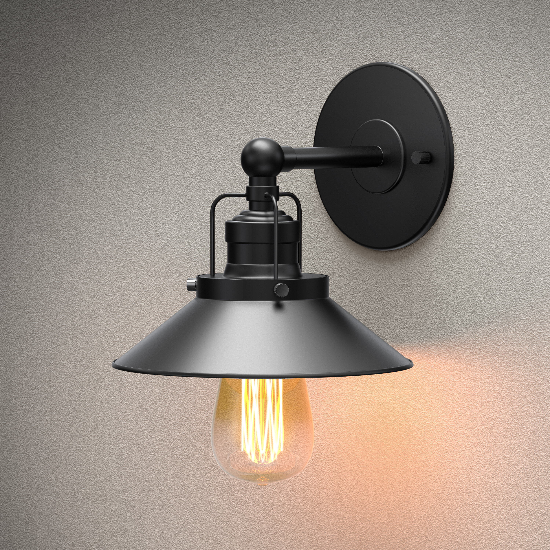 Gatco Modern Farmhouse 1 Light Dimmable