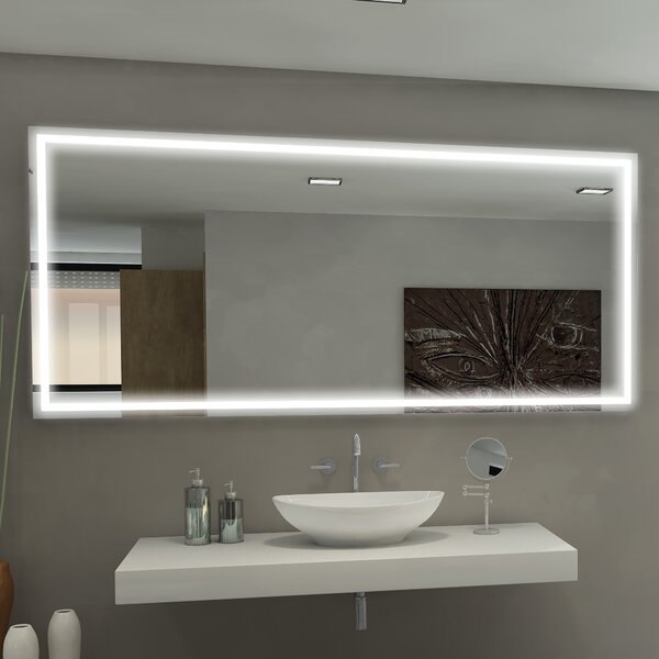 Harmony Illuminated Bathroom / Vanity Mirror by Paris Mirror