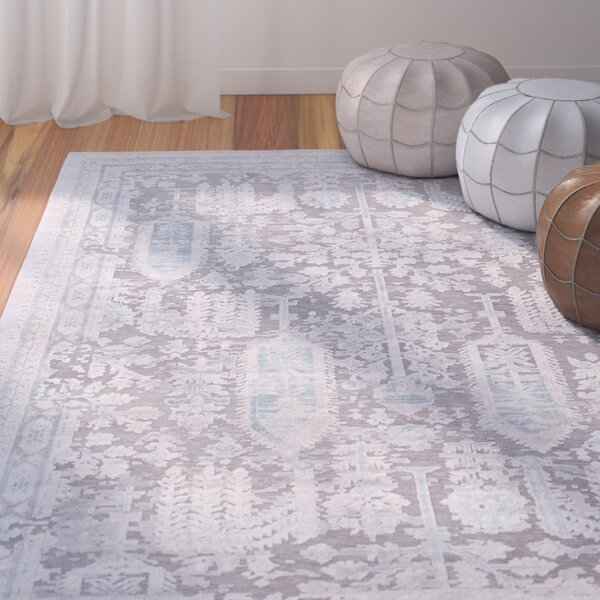 Svendborg Taupe/Gray Area Rug by Bungalow Rose