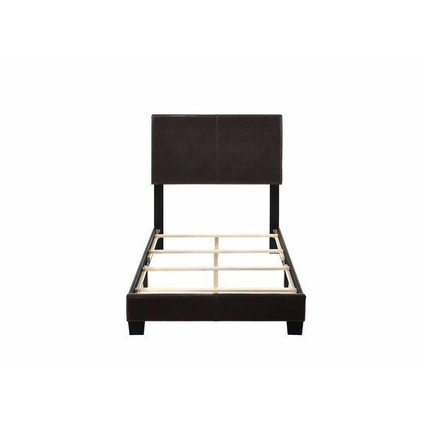Oddger Upholstered Standard Bed by Red Barrel Studio