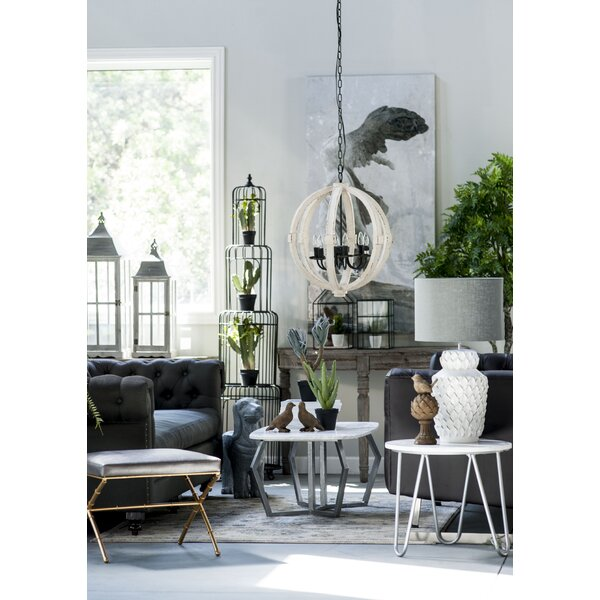 Mcgoldrick 9 - Light Unique / Statement Globe Chandelier by Gracie Oaks Gracie Oaks