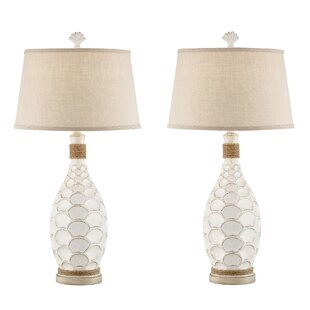 Altair Rope 33 Table Lamp (Set of 2) By Highland Dunes Lamps