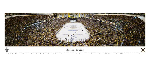 NHL End Zone Photographic Print by Blakeway Worldw