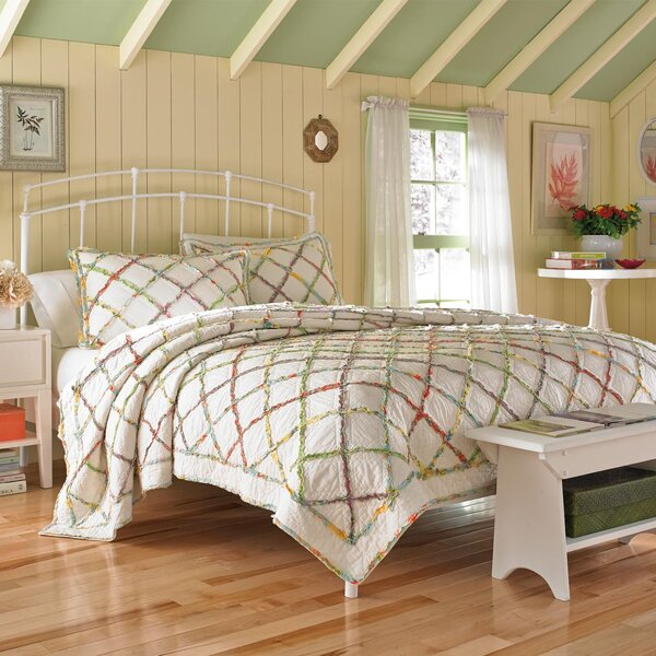 Ruffled Garden 5 Piece Duvet Cover Set by Laura Ashley Home by Laura Ashley Home