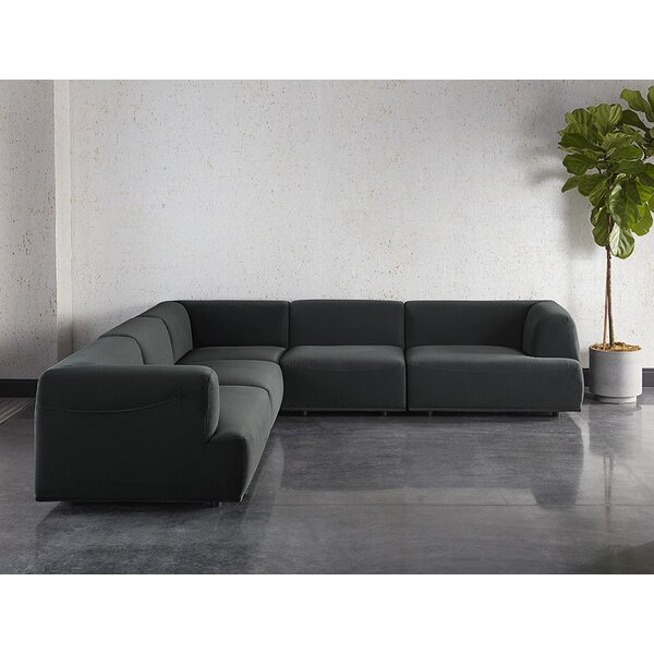 Darren Reversible Modular Sectional by Sunpan Modern
