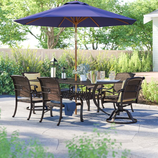 Harland 7 Piece Dining Set by Sol 72 Outdoor