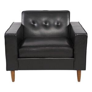 Potter Top Grain Leather Club Chair by Brayden Studio