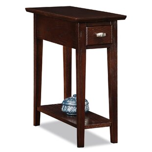 Maddux End Table With Storage ByThree Posts