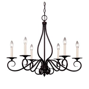 Bryce 6-Light Candle-Style Chandelier