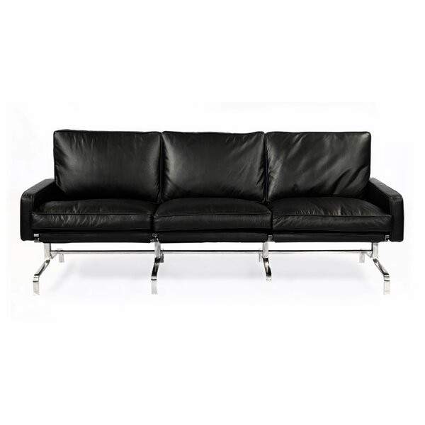 Modern Leather Sofa by Kardiel