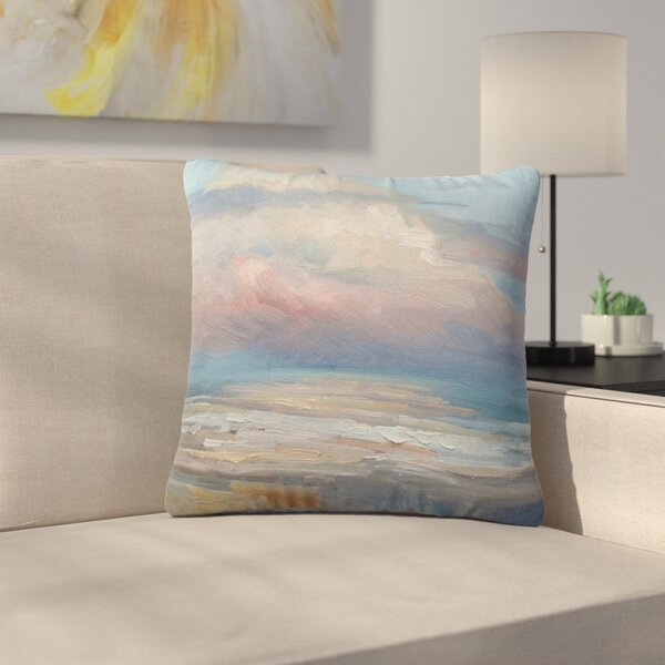 Carol Schiff Clouds Outdoor Throw Pillow by East Urban Home
