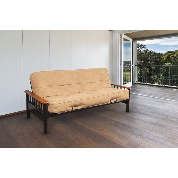 Locklear Bismark Futon and Mattress by Red Barrel Studio
