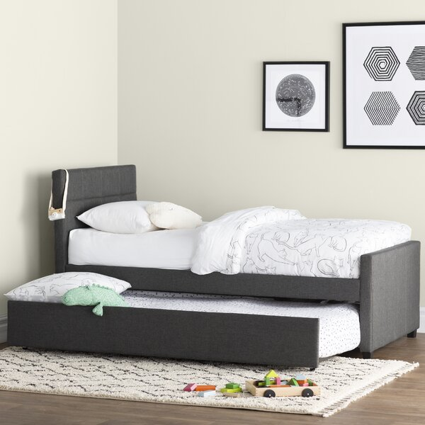 Algrenon Twin Platform Bed with Trundle by Mack & Milo
