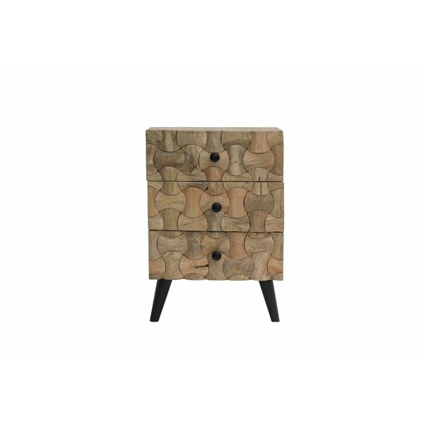 Burkesed End Table with Storage by Union Rustic