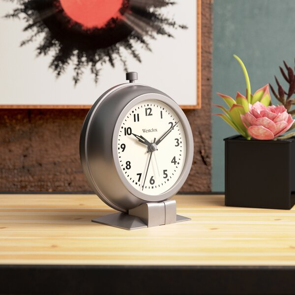 Metal Case Alarm Clock by Trent Austin Design
