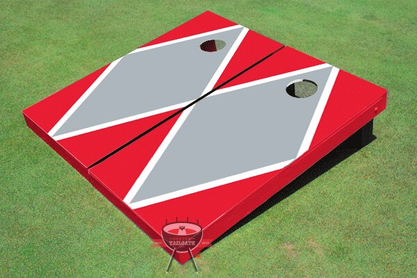 Matching Diamond Cornhole Board (Set of 2) by All American Tailgate