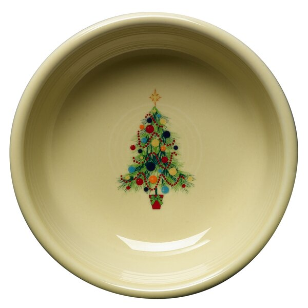 Christmas Tree Cereal Bowl by Fiesta