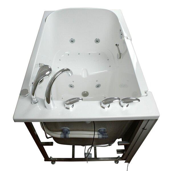 Bariatric Seat Air and Hydro Massage Whirlpool Walk-In Tub by Ella Walk In Baths