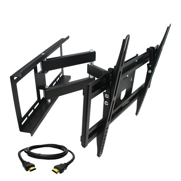 Full Motion Wall Mount For 26'' - 55'' Plasma/LCD/LED Screens By MegaMounts