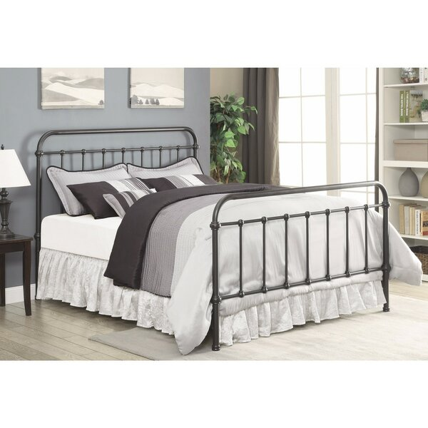 Otteridge Metal Queen Standard Bed by Gracie Oaks
