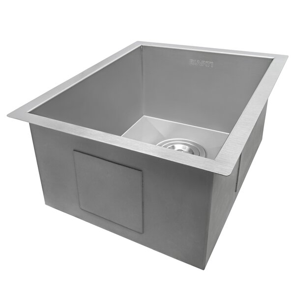 Nesta 18 L x 14 W Undermount Bar Sink by Ruvati