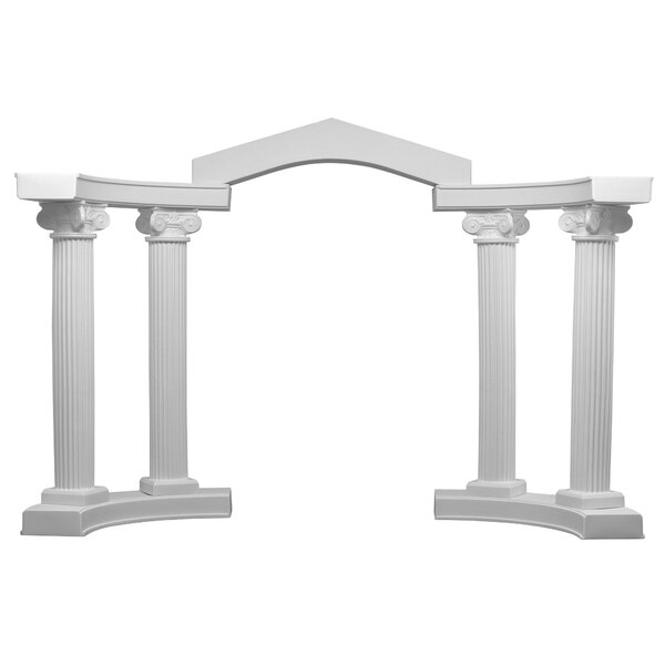 Classic Colonnade Arbor by EventsWholesale