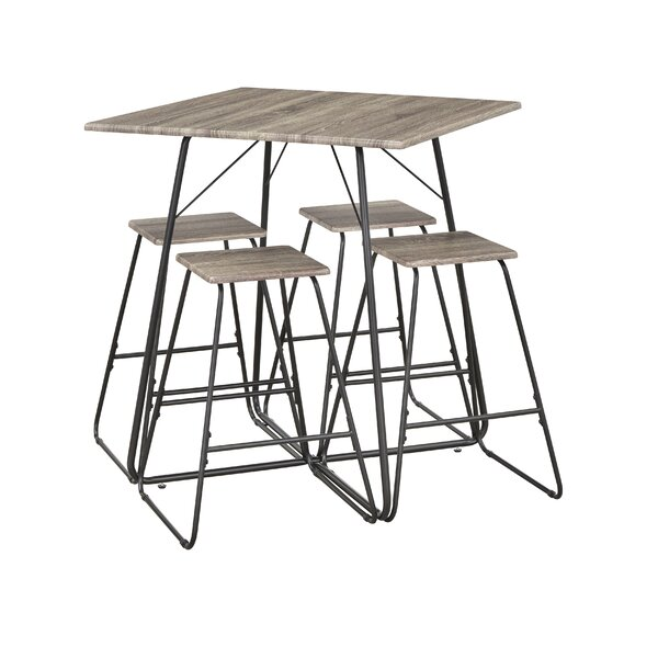 Petra 5 Piece Dining Set By TMS