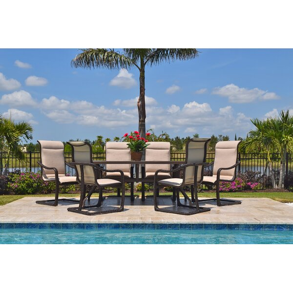 Palms 7 Piece Dining Set by Outdoor Masterpiece