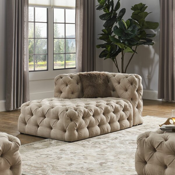 Laussat Left Hand Facing Sectional By Charlton Home