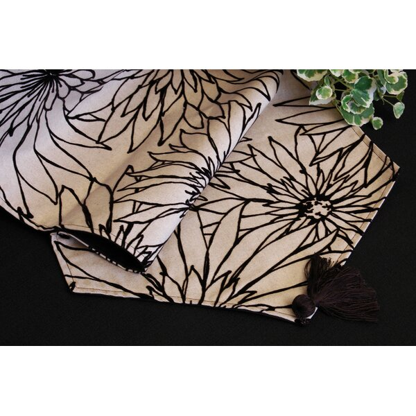 Dahlia Reversible Runner by Pacific Table Linens