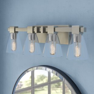 Price Check Marnie 4-Light Vanity Light By Zipcode Design
