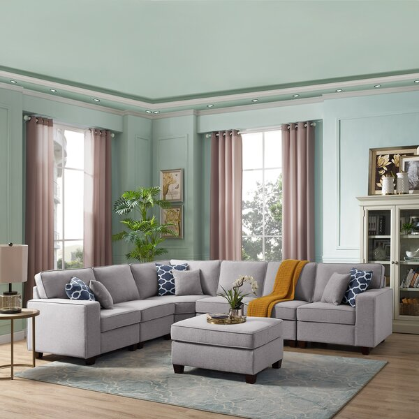 Looking for Samual Modular Sectional With Ottoman By Latitude Run 2019 Online