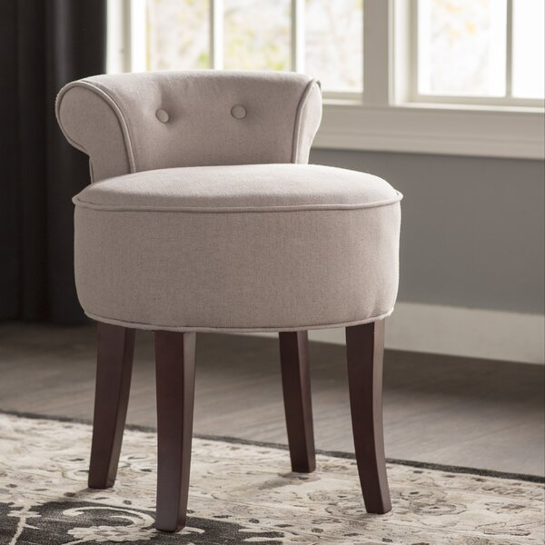 Chloe Vanity Stool by Alcott Hill